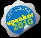 UNC CAUSE speaker